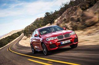 BMW официально представила новый кроссовер X4