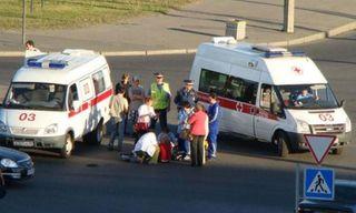 ДТП в Абакане: Водитель иномарки сбил 3-летнего ребенка