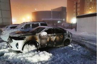 Фото: Один изсгоревших вСургуте Haval F7x, источник: drive2.ru
