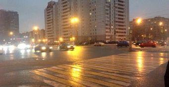 Девушка попала под колеса на Коллонтай в Петербурге