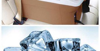 Отсутствие встроенного кондиционера в авто решит лёд и холодильник