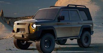 Козлик отпущения: Новый УАЗ «Хантер» построят на«объедках» от«Патриота»