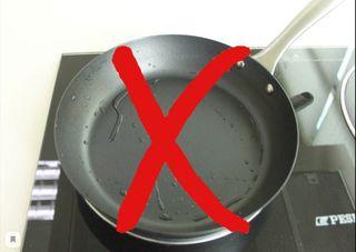 Фото: Сковорода скаплями воды/ amazonaws.com