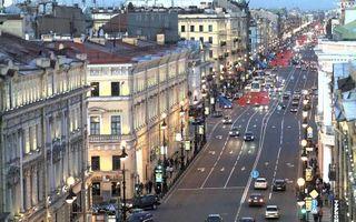 На Невском проспекте произошло ДТП без пострадавших
