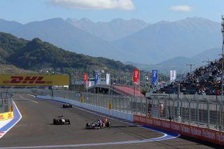 В Сочи стартовал первый в истории России этап «Формулы-1»