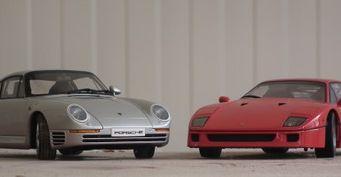 """Раритетные Ferrari F40 и Porsche 959 уйдут с """"молотка"""" на аукционе"""
