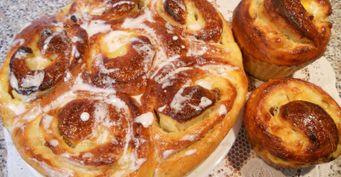 Моя удачная выпечка: Пышные парижские булочки «Бриоши»