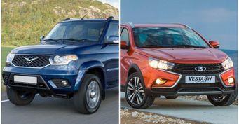 Переплатить за«автомат», отказаться отвариатора: Статистика продаж УАЗ «Патриот» иLADA доказала провал «АвтоВАЗа»