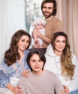 Семья Анастасии Заворотнюк