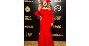 Живот выпирает, бока вываливаются: Марина Федункив ошиблась с платьем на«Золотом граммофоне 2020»