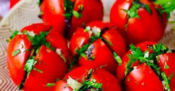 Квасим, пока незавяли: Малосольные помидоры «по-армянски»