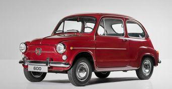 Seat в честь 60-летия представит ретро-концепт автомобиля Seat 600