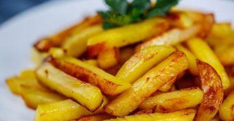 Хрустящая жареная картошка: Три шага к успеху