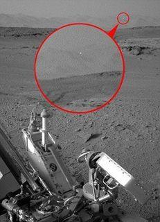 Интернет-пользователи вновь разглядели НЛО на снимках марсохода Curiosity