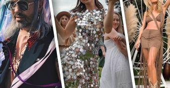 Карина Нигай провела вечеринку в стиле «хиппи» — разбор «звездных» нарядов