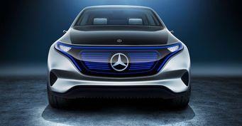 Mercedes-Benz готовится к выпуску автомобилей EQ