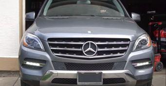 Поцене «Приоры»: ВСША Mercedes MLпродали за300 000 рублей