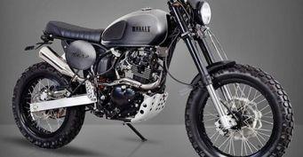 Bullit Motorcycles анонсировала Hero 125 Scrambler образца 2017 года