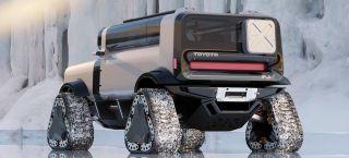 Будущий Toyota FJCruiser. Рендер: Ниил Мансухани