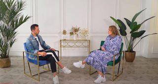 Звезда Comedy Woman на интервью. Кадр из YouTube-канала: «Эмпатия Манучи»