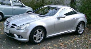 Mercedes выпустит переднеприводный родстер SLA