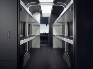 Фургон внутри. Фото: пресс-служба Arrival
