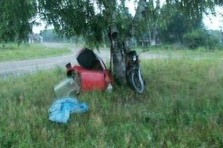 В Приморье разбился мотоциклист