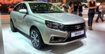 «АвтоВАЗ» выпустит LADA Vesta Exclusive с 17-дюймовыми колёсами