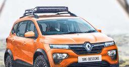Вседорожный Renault Triber Adventure Sport: Опубликованы независимые рендеры