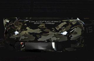 В сети появились фотографии нового Lamborghini Huracan