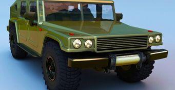 «Шишига» будущего: Новый ГАЗ-66 представлен нарендерах