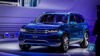 Volkswagen начнет серийную сборку CrossBlue в 2016 году
