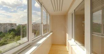 Способы остекления балконов и лоджий