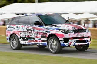 Новый Range Rover SVR будет презентован 14 августа