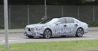 Mercedes-Benz S-Class 2020 получит принципиально новые фары