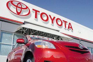Toyota Motors увеличила продажи на 5,09 млн авто за I полугодие 2014
