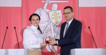 Премьер Польши «перенёс» столицу Беларуси вВаршаву