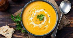 Крем-суп из тыквы – летний кладезь витаминов
