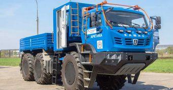 Вездеход ледникового периода: Экспериментальный КамАЗ-6533 «Арктика» за15млн рублей раскрыт вдеталях