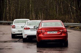 LADA Vesta и Renault Logan, источник: 5koleso