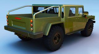 Новый ГАЗ-66. Рендер: «ВКонтакте»