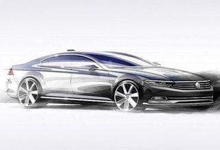 Автоконцерн Volkswagen представил новый Passat
