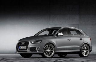 Audi начала испытания обновленного RS Q3
