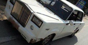 В Азии на базе ВАЗ-2101 создали Rolls-Royce Phantom