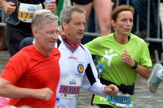 В брюссельском марафоне принял участие король Бельгии