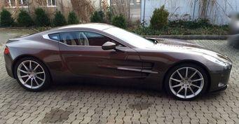 Уникальный Aston Martin One-77 продают в Германии за 2,47 млн долларов