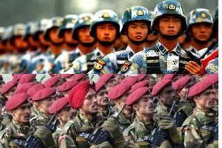 Военные Китая и Индии могут вновь схлестнуться на границе. Источники фото: militaryarms.ru, googleusercontent.com