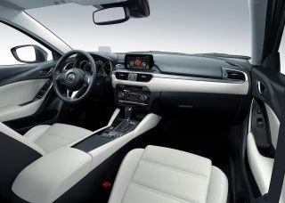 Фото: салон Mazda 6 2016 года, источник: Mazda