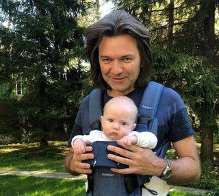 Дмитрий Маликов и сын. Фото: 7 Дней