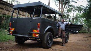 Кенийская компания Мобиус испытывает свой бюджетный внедорожник